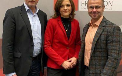 Neuer Vorstand der SPD-Landesgruppe Ost gewählt